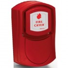 Vimpex Wall Mounted Red Fire-Cryer Solo with Shallow Base