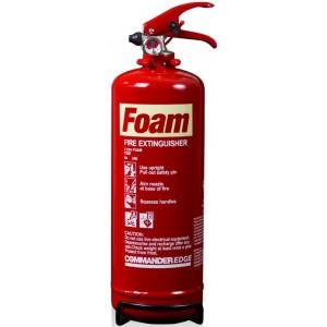 2 Litre Foam Extinguisher CommanderEDGE – FS2E