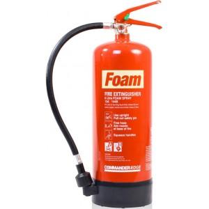 6 Litre Foam Extinguisher CommandEDGE – FS6E