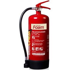 6 Litre CommanderEdge MultiChem Multi Class Fire Extinguisher (34A, 233B 75F)