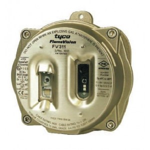 Tyco FV311SCN 20mm IR Flame Detector with NTSC Camera