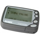 Scope GEO Zoom 4-8 Line Alphanumeric Pager with Rechargeable Battery