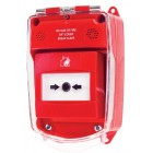 Hyfire Red Weatherproof Call Point Housing with No Sounder