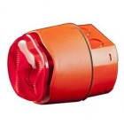 Hochiki Conventional Weatherproof Sounder Beacon - Red Case Red LEDs (BANSHEE EXCEL LITE)
