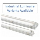 Advanced Lux Intelligent IP65 Maintained Addressabled Industrial Style Luminaire
