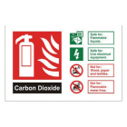 CO2 ID Sign Landscape (100mm x 150mm) Brushed Aluminium – CDLBA