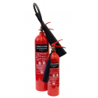 2KG CO2 Premium Refurb Aluminium Extinguisher - 2PRX
