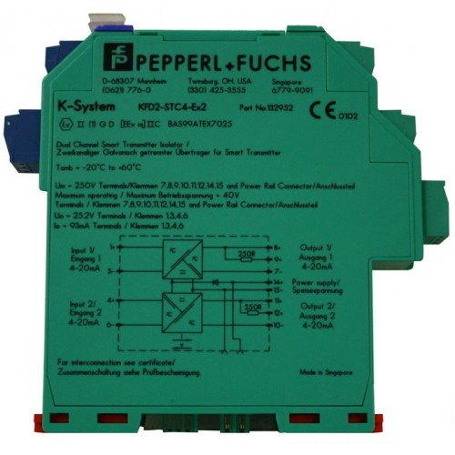 pepperl fuchs kfd2 stc4 ex2 smart transmitter power supply rh acornfiresecurity com pepperl fuchs proximity sensor wiring diagram pepperl fuchs proximity sensor wiring diagram