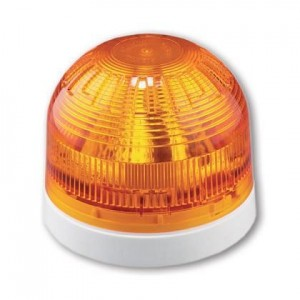Klaxon Sonos LED Beacon, Deep Base, White/Amber 17-60v - PSB-0036