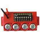 Global Fire MAM-RED Manually Addressed Module for Call Point or Input
