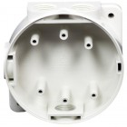 Hochiki MBB-2(WHT) White Marine Mounting Back Box with Glands