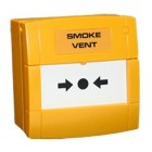 Haes Smoke Vent 470ohm Yellow Manual Call Point MCP1A-Y-AOV