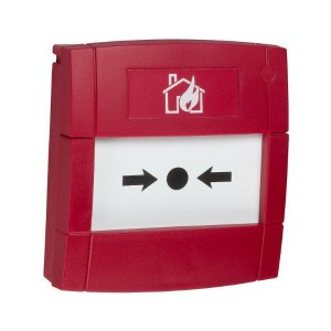 KAC MCP4A Double Pole Callpoint Red NO/NC Surface - Resettable