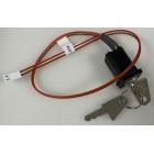 Advanced MXP-016 2-Position Key Switch Assembly (trapped)