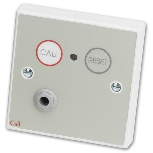 C-Tec NC802DERB Conventional Infrared Call Point with Button Reset and Remote Socket