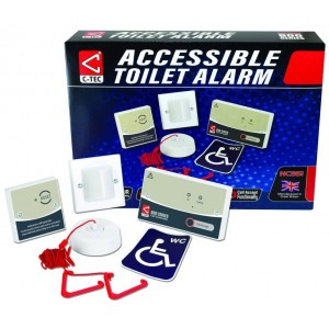 C-Tec NC951 Conventional Accessible Toilet Alarm Kit to BS8300