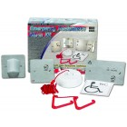 C-Tec NC951/SS Conventional Stainless-Steel Emergency Assistance Alarm Kit
