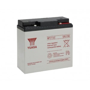 Yuasa 12V 17AH Battery Inverted Terminals (NP17-12)