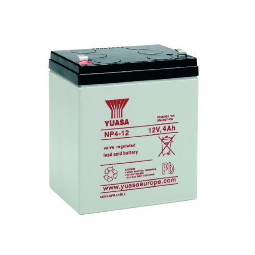 yuasa 12v 4ah battery. Black Bedroom Furniture Sets. Home Design Ideas