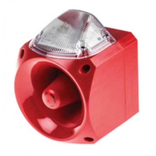 klaxon nexus 110db voice sounder clear led beacon 24v dc pnv 0010 rh acornfiresecurity com