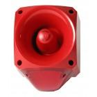 Klaxon Nexus 105dB Sounder Beacon, Xenon Red Lens 10-60v - PNC-0001 (18-980543)