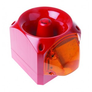 Klaxon Nexus 105dB Sounder Beacon, Xenon Amber Lens 10-60v - PNC-0002 (18-980544)
