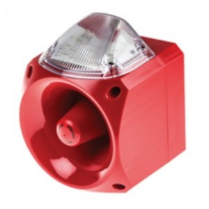 Klaxon Nexus 105dB Sounder Beacon, Xenon Clear Lens 110/230v AC - PNC-0019 (18-980573)