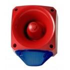 Klaxon Nexus 110dB Sounder Beacon, LED Blue Lens 10-60v - PNC-0054 (18-980666)