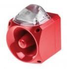 Klaxon Nexus 110dB Sounder Beacon, Xenon Clear Lens 110/230v AC - PNC-0072 (18-980590)