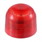Klaxon Sonos Sounder LED Beacon, Shallow Base, Red Body, Red Lens 17-60v - PSC-0002 (18-980500)