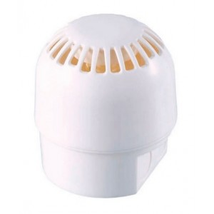 Klaxon Sonos Sounder Only, White Body, Deep Base 9-60v DC - PSS-0050 (18-980476)