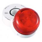 Klaxon 3W Xenon Flashguard Beacon with Red Lens 110v AC - QBS-0002 (45-711311)