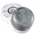 Klaxon Flashing LED Flashguard Beacon with Clear Lens 110v AC - QBS-0014 (45-711831)