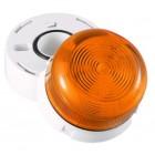 Klaxon Flashing LED Flashguard Beacon with Amber Lens 230v AC - QBS-0028 (45-712821)