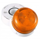 Klaxon 2W Xenon Flashguard Beacon with Amber Lens 12/24v DC - QBS-0042 (45-713221)