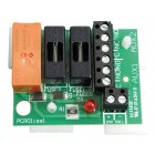 Haes 8A 24vdc Double Pole Fused Relay Card RECARD24-8F