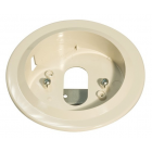 System Sensor Recess Mounting Kit Ivory (RMK400AP-IV)