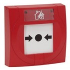 Manual Call Point (MCP) with Protective Cover & Resettable Element - S4-34845 - Gent