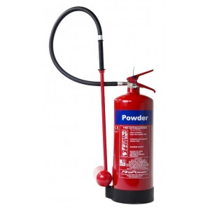 9Kg Commander M28 Firepowder Powder Extinguisher - SE01