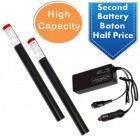 Solo High Capacity Charger & Battery Baton Kit