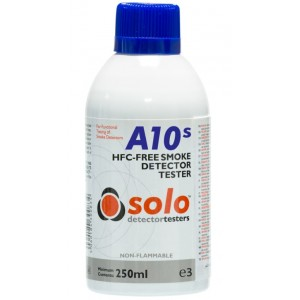 Solo A10S Smoke Detector Test Gas Canister 250ml (Non-Flammable)