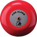Klaxon 6 Inch Fire Alarm Bell in Red 24v - TAA-0007 (18-980851)