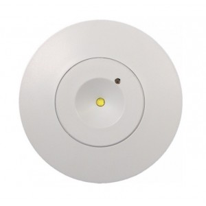 TWR 3W Circular Non-Maintained Discreet LED Down Light IP30