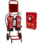 Commander Compact Double Trolley with Weatherproof Site Alert Alarm