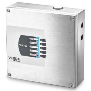 Vesda VLC-505-EX LaserCOMPACT EX Zone 2 Detector Interfaced via Relays & VESDAnet