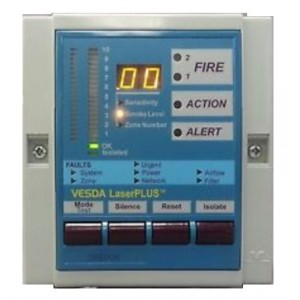 Vesda VRT-200 LaserPLUS Display With Remote Termination Card & 7 Relays