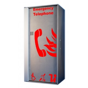 Lexicomm ViLX-IPA IP66 Weatherproof Type A Fire Telephone Handset
