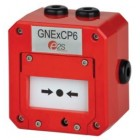 Vimpex Explosion Proof Manual Callpoint Break Glass in Red - GNEXCP6A-BG