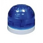 Klaxon High Power 5J Xenon Beacon Blue Lens with Deep White Base - PSB-0120