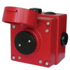 Vimpex Explosion Proof Manual Callpoint Push Button in Red BEXCP3A-PB-ST
